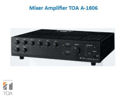 Mixer Amplifier TOA A-1806