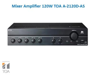 Mixer Amplifier 120W TOA A-2120D-AS