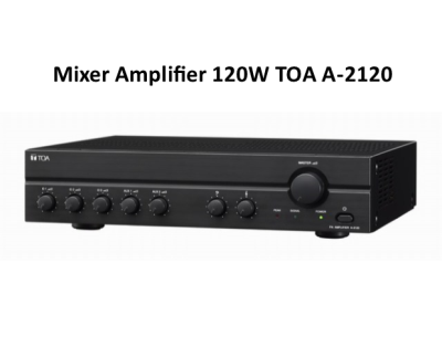 Mixer Amplifier 120W TOA A-2120